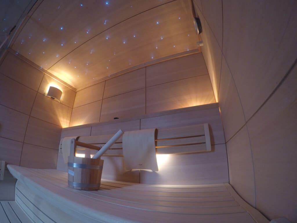 KLAFS Lounge saunos įrengimas