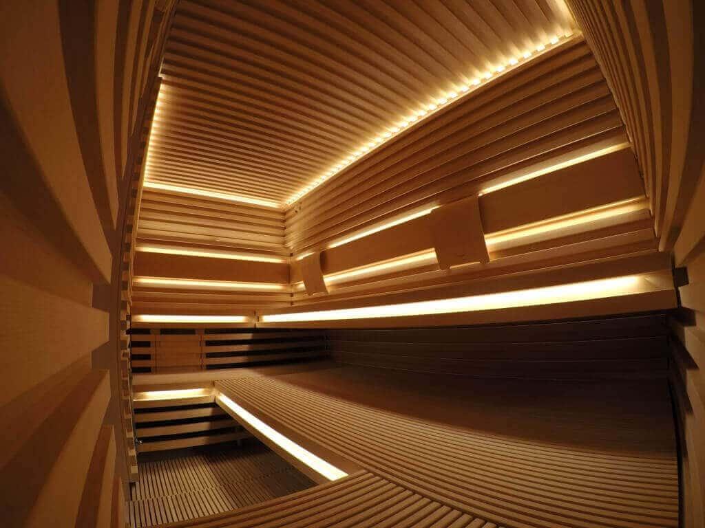 Išskirtinės KLAFS Matteo Thun saunos įrengimas