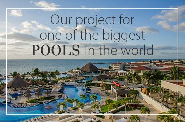Išskirtinis Sicis gamintojo projektas – didžiausias pasaulyje baseinas iš mozaikos.